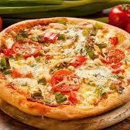 135. Pizza vegetariana